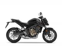 Honda CB650F ABS, černá Matt Grunpowder