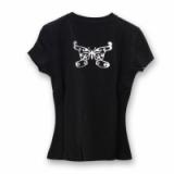 CLOVER tričko lady T-03, N/B