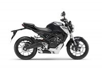 Honda CB125R ABS, Mat Axis Grey
