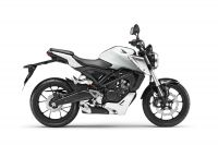 Honda CB125R ABS, Metalloid White