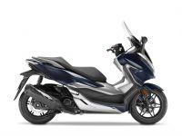 skútr Honda  Forza 300 ABS, modrá Metallic