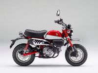 Honda Monkey ABS, Nebula Red/Ross White