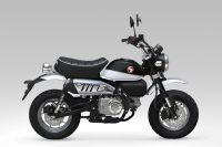 Honda Monkey ABS, Shining Black/Ross White