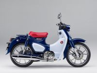 Honda Super Cub 125 ABS, Niltava Blue