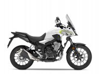 Honda CB500X ABS, bílá Metalloid White