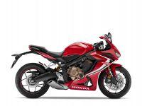 Honda CBR650R, červená Red