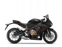 Honda CBR650R, černá mat Gundpowder