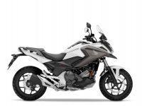 Honda NC750X ABS, Mat Glare White