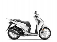 skútr Honda SH125i ABS, bílá Cool White