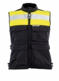 CLOVER textilní vesta Plug + chránič, N/G