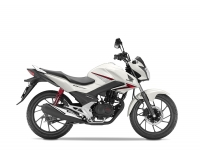Honda CB125F, bílá Sunbeam