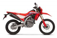Honda CRF300L, Extreme Red