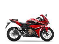 Honda CBR500R, červená