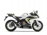 Honda CBR500R, Pearl metall white