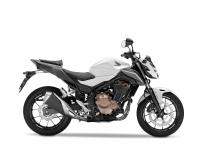 Honda CB500F ABS, bílá Metalloid