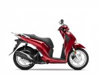 skútr Honda SH125i ABS, červená Splendour Red