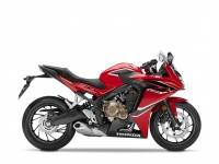 Honda CBR650F ABS, Red