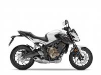 Honda CB650F ABS, Bílá Metalloid