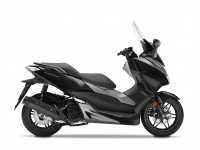 skútr Honda  Forza 125 ABS, černá mat Black/Silver