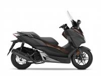 skútr Honda  Forza 125 ABS, černá mat Gray/Brown