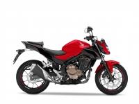 Honda CB500F ABS, červená Millennium