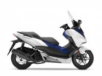 skútr Honda  Forza 125 ABS, bílá mat White/Blue