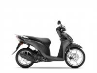 skútr Honda Vision 110, černá matná Carbon