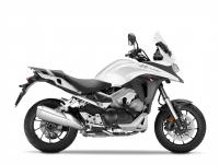Honda VFR800X ABS Crossrunner, bílá Pearl Glare