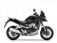 Honda VFR800X ABS Crossrunner, černá Matt Gunpowder