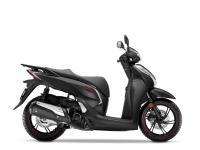 skútr Honda SH300i, černá Mat Cynos Sport