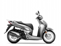 skútr Honda SH300i, stříbrná Lucent