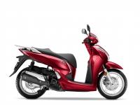 skútr Honda SH300i, červená Splendour