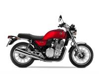Honda CB1100 ABS EX, červená Candy Alizarin