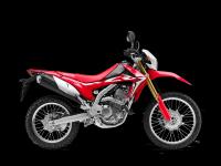 Honda CRF250L, červená