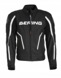 BERING kožená bunda Gear, BLK/WHT