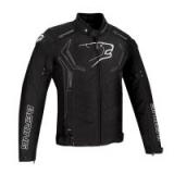 BERING textilní bunda Guardian, BLK/WHT