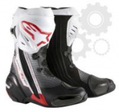 ALPINESTARS boty Supertech-R, WHT/RED