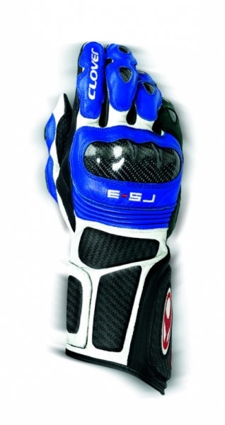 CLOVER rukavice RS-3, B/BT