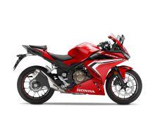 Honda CBR500R, červená Red