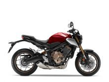 Honda CB650R ABS, Candy Red