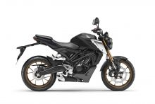 Honda CB125R, Matt Gunpowder Black