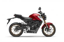 Honda CB125R, Candy Chromosphere Red