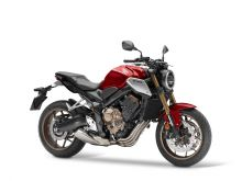 Honda CB650R ABS, Candy chromosphere red
