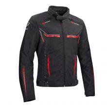 BERING textilní bunda Ross, BLK/RED