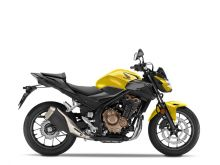 Honda CB500F ABS, Candy moon glow yellow