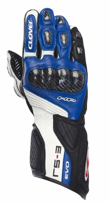 CLOVER rukavice RS-3 Evo, B/BT