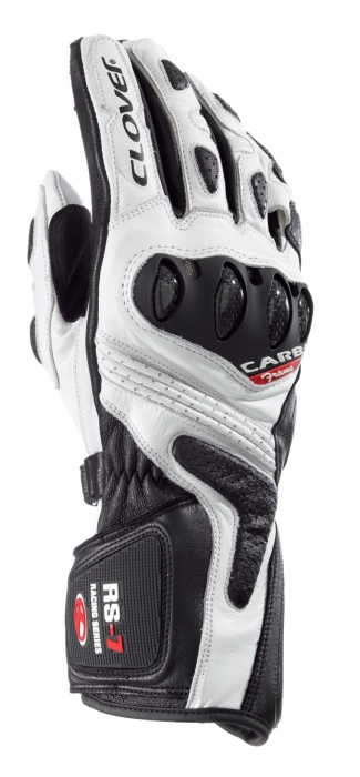 CLOVER rukavice RS-7, B/N
