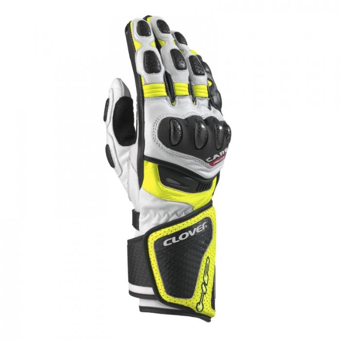 CLOVER rukavice RS-8, B/G