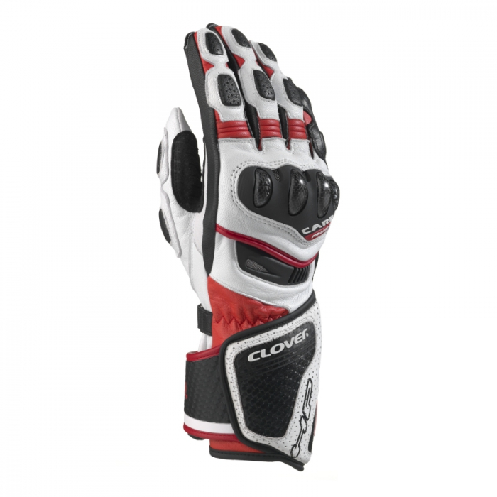 CLOVER rukavice RS-8, B/R