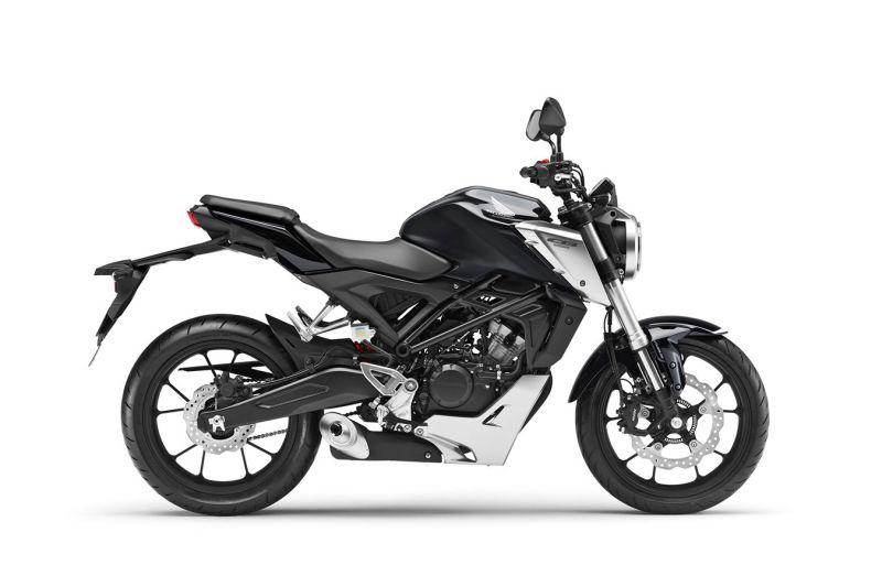 Honda CB125R ABS, Mat Axis Grey